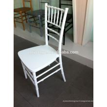 Aspect moderne et matériel en métal silla tiffany chaise