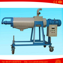 260 Sheep Manure Extruder Machine Poultry Cow Dung Dewatering Machine