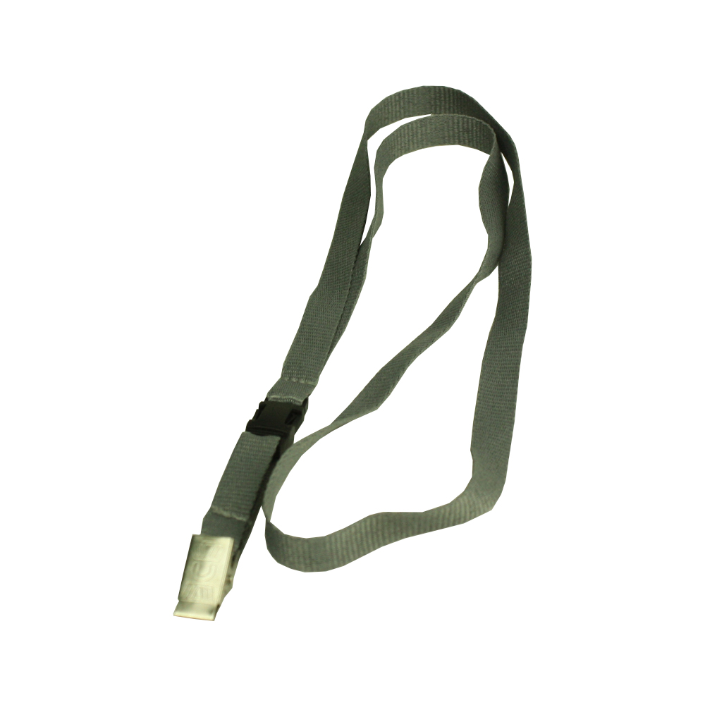 Polyester Lanyard with Clip ID Badge Holder Strip