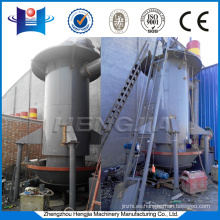 Aluminum melting furnace match coal gas furnace, coal gas stove, coal as raw material produce
