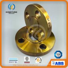 Reborde forjado a presión del reborde deslizante del acero de carbono A105 con TUV (KT0284)