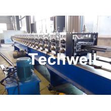Steel Metal Rack Roll Forming Machine / Steel Frame Roll Forming Machine