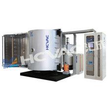 Máquina de revestimento de alta vácuo de alumínio de evaporação para vidro plástico