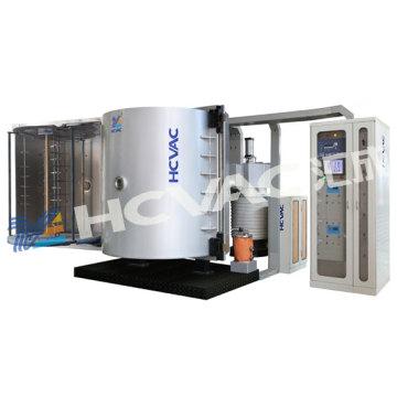 Cosmetic Caps PVD Vacuum Evaporation Coating Plant Aluminium Coating Machine