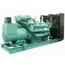 1MW Diesel Fuel Radiator Fan Electric Generator