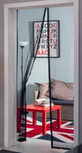 magnet curtain door