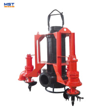 High suction submersible agitator pump