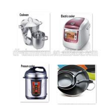 Utensílios de cozinha Círculo de alumínio