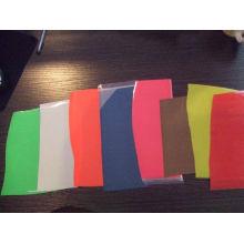 Oi viz refletivo fluorescente cor filme para impressão de transferência de calor