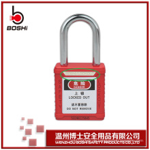 6mm Dia OEM Leichte Stahl Sicherheit Vorhängeschlösser Master Key BD-G01