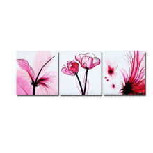 Oil on Canvas Modern Flower Painting on Canvas (FL3-208)