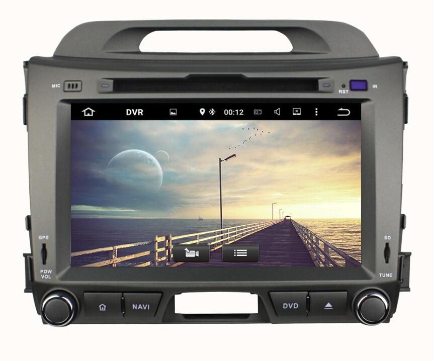 KIA Sportage 2010-2012 Car Multimedia GPS