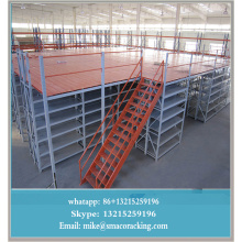 Power Coating Finishing commerical storage pallet rack mezzanine racking system