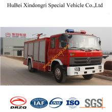 4ton Dongfeng EQ1126kj1 145 Water Fire Truck Euro3