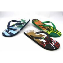 Sandália de flip flop de borracha