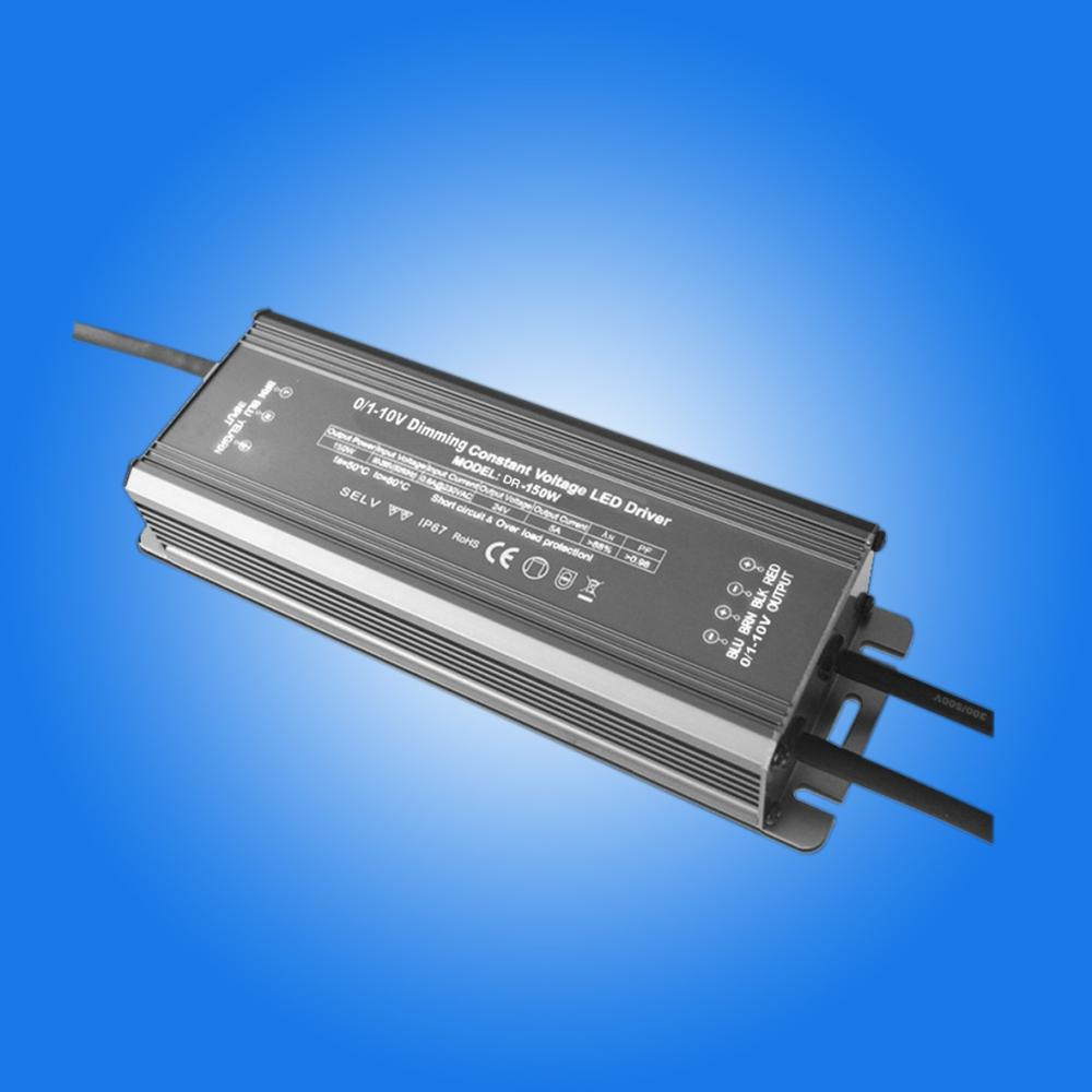 0-10v dimmable led driver 24v 150W