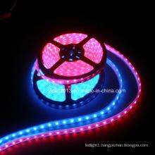 High Lumen 12V 24V DC Flexible Waterproof 120LED/M RGB 3528 SMD LED Strip Light