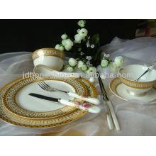 Estilo ruso café té espresso conjunto de taza y platillo de hueso fino china porcelana juegos de vajilla