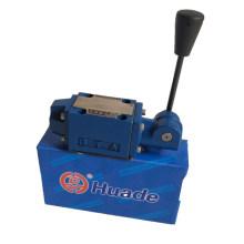 Válvula manual da série Huade 4WMM 4WMM6E50B 4WMM6G50B 4WMM6J50B / F 4WMM6H50B / válvula de controle direcional hidráulico F
