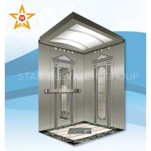 Pequena sala de máquinas elevador residencial de baixo custo