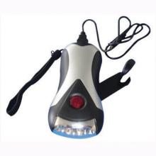 3-LED Dynamo Flashlight (Torch) (14-1C2709)