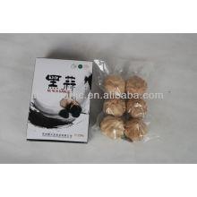 El alimento verde natural puro y el ajo negro fermentado orgánico 6pcs / box