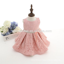 Baby girls princess pageant party kids pink pleats ruching lace tutu dress new born toddler girl clothing