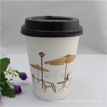 Tazas de papel de la venta caliente / taza de espuma desechable / tazas de café