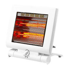 Mini Foldable Heater with Double Safely Tip Over Protection and 100 to 240V Voltages