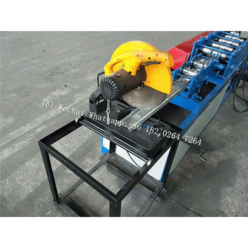 Semiautomático Garage Door Strip Roll Foming Machine