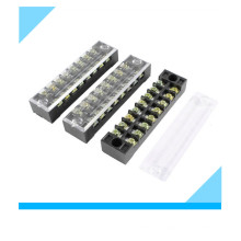 8 Pin Dual Rows Covered Barrier Screw Terminal Block