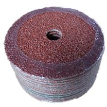 Disco de fibra abrasiva de óxido de aluminio