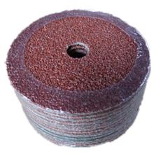 Disque en fibre abrasive d'oxyde d'aluminium