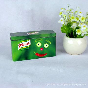 Caixa de presente metálica, caixa de jóias em metal, caixa de metal personalizada