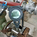 Top quality turbine flow meter with screw connection