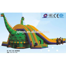 JQ-YEK1402 China children Soft Indoor dinosaur Entertainment slide Indoor Playground for Kids