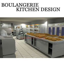Shinelong Подгонять Булочной Проект Дизайн Кухни