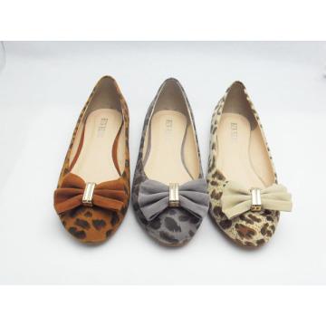 Zapatos planos del vestido de las nuevas mujeres del estilo (HCY03-129)