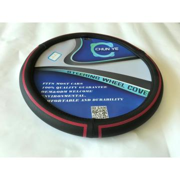 PVC PU Leather Good Soft Steering Wheel Covers