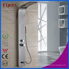 Panneau de douche en acier inoxydable 304 brossé