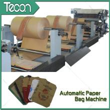 Máquina automática de bolsa de papel con motor para cemento