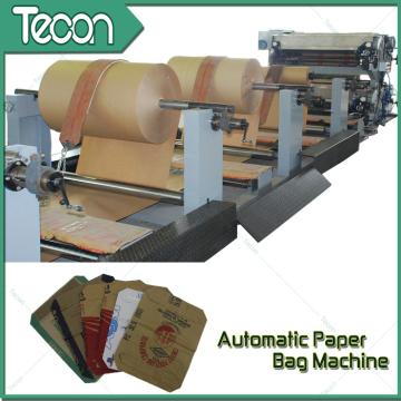 Sacs en papier entièrement cimentés Machines d'emballage