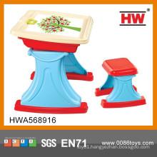 High Quality Plastic Education Set Kids Study Desk