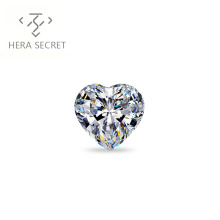 ForeverFlame G H 3.5ct 9.6mm*8mm Heart Cut diamond CVD CZ Moissanite proposal ring Women Jewelry Ring