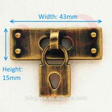 Accesorios decorativos de bloqueo de bolso falso para accesorios de bolsa (N18-575A)