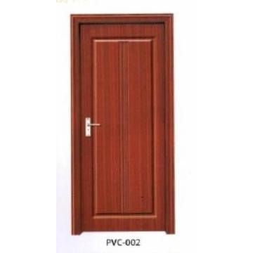 PVC Wooden Door for Kitchen or Bathroom (pd-010)
