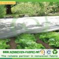 Tela no tejida estable ULTRAVIOLETA para la protección de cultivos