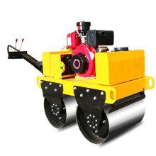 Mini compresor de rodillos de carretera con motor de gasolina