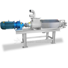 Trade assurance cow manure separator dewatering/extrusion solid liquid separator
