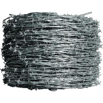 Barbed Wire Roll PVC-belagd eller HDG
